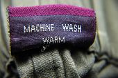 General Clothing Washing Instructions