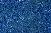 Blue Fiber Glass Texture