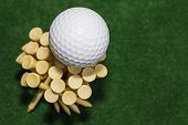 Golf Ball Tee Bouquet