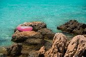 Life Buoy Near Sea