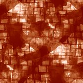 seamless brown cubism abstract art Picasso texture watercolor wa