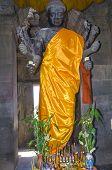 Diety Vishnu Statue In Angkor Wat