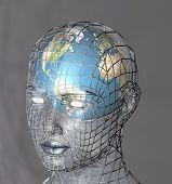 Head Housing A Globe