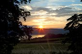Sunset Over Seneca Lake