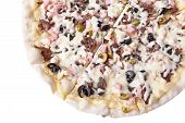 Pizza Cassoulet Closeup