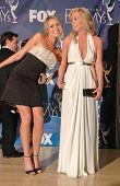 Katrina Bowden and Jane Krakowski in the press room at the 59th Annual Primetime Emmy Awards. The Shrine Auditorium, Los Angeles, CA. 09-16-07