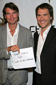 Jerry O'Connell and Michael Medico at the 2007 Hot In Hollywood to benefit the AIDS Healthcare Found
