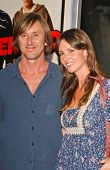 Jake Weber and wife Elizabeth at the Los Angeles Premiere of