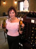 Edy Williams at a Temecula Wine Tasting, Temecula, CA 08-08-07