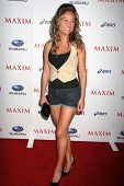 Lauren C. Mayhew at the MAXIM Magazine ICU Event. Area, Hollywood, CA. 08-02-07