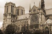 Notre-Dame de Paris; French for