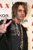 Criss Angel at the pre-VMA party hosted by Christina Aguilera. LAX Night Club, Las Vegas, NV. 09-08-07