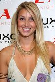 Whitney Port at the pre-VMA party hosted by Christina Aguilera. LAX Night Club, Las Vegas, NV. 09-08-07
