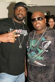 Cee-Lo and guest at the ROLLING STONE and the Hard Rock Hotel Celebrity Poker Tournament. The Hard Rock Hotel and Casino, Las Vegas, NV. 09-08-07