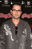 Frankie Delgado at the ROLLING STONE and the Hard Rock Hotel Celebrity Poker Tournament. The Hard Ro