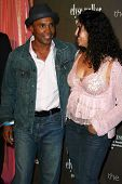 Sugar Ray Leonard and wife Bernadette  at the 3rd Annual Pink Party benefiting Cedars-Sinai Women's