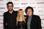 Zachary Quinto with Kristen Bell and Masi Oka  at Entertainment Weekly's 5th Annual Pre-Emmy Party. Opera and Crimson, Hollywood, CA. 09-15-07