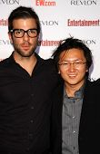 Zachary Quinto and Masi Oka  at Entertainment Weekly's 5th Annual Pre-Emmy Party. Opera and Crimson, Hollywood, CA. 09-15-07