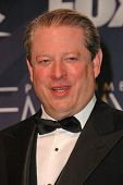 Al Gore in the press room at the 59th Annual Primetime Emmy Awards. The Shrine Auditorium, Los Angel