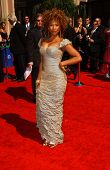 Tanika Ray arriving at the 59th Annual Primetime Emmy Awards. The Shrine Auditorium, Los Angeles, CA. 09-16-07