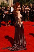 Phoebe Price arriving at the 59th Annual Primetime Emmy Awards. The Shrine Auditorium, Los Angeles, CA. 09-16-07