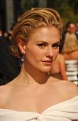 Anna Paquin  arriving at the 59th Annual Primetime Emmy Awards. The Shrine Auditorium, Los Angeles,