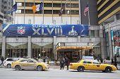 Sheraton New York welcomes visitors during Super Bowl XLVIII week in Manhattan