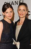 Ginnifer Goodwin and Amanda Peet at the Chanel and P.S. Arts Party. Chanel Beverly Hills Boutique, Beverly Hills, CA. 09-20-07