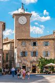 The Village Square At Orvieto