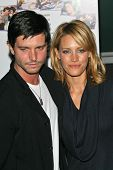 KaDee Strickland and Jason Behr at the premiere of