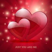 Valentine's Day Magic Love Poster Card Design