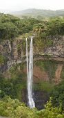 stock photo of chamarel  - Mauritius Chamarel Waterfall Valley - JPG