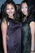 Ning Ning Zhang and guest at the Fashion TV 10th Anniversary Party. Private Estate, Beverly Hills, C