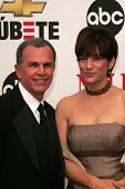 Tony Plana and Ada Maris at the 2007 Alma Awards. Pasadena Civic Auditorium, Pasadena, CA. 06-01-07