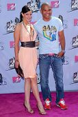 Dayanara Torres and Amaury Nolasco arriving at the 2007 MTV Movie Awards. Gibson Amphitheatre, Unive