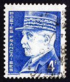 Postage Stamp France 1942 Marshal Petain