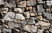 Seamless Rock Wall Background Tile