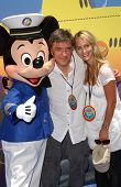 Craig Ferguson and Megan Cunningham at the Opening of Disneyland's