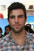 Zachary Quinto at the world premiere of