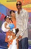 Kobe Bryant with wife Vanessa and family at the Opening of Disneyland's