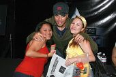 Enrique Iglesias and fans at an In-Store Performance and Signing for his new album