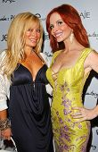 Gloria Kisel and Phoebe Price at the launch of Phoebe's Phantasy by Lotion Glow. Kaje Boutique, Beverly Hills, CA. 06-16-07