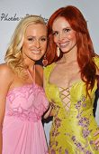 Katie Lohmann and Phoebe Price at the launch of Phoebe's Phantasy by Lotion Glow. Kaje Boutique, Bev