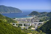 Kumano City, Mie Prefecture, Japan at Atashika waterfront.