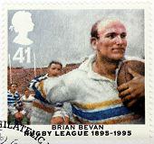 Brian Bevan Stamp