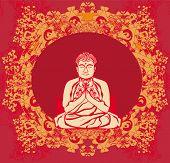 Buddha - Abstract Card