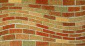 Wavy Brick Wall