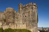 Ponferrada Templar Castle Tower.