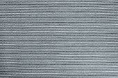 Textile Texture Of Striped Fabric Silvery Color
