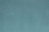 Rough Texture Of Wattled Fabric Blue Color